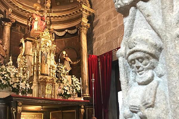Igrexa parroquial de Santiago de Padrón