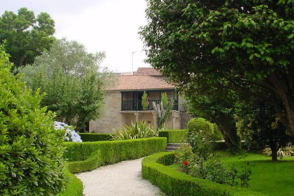Garden of the Rosalía de Castro House-Museum