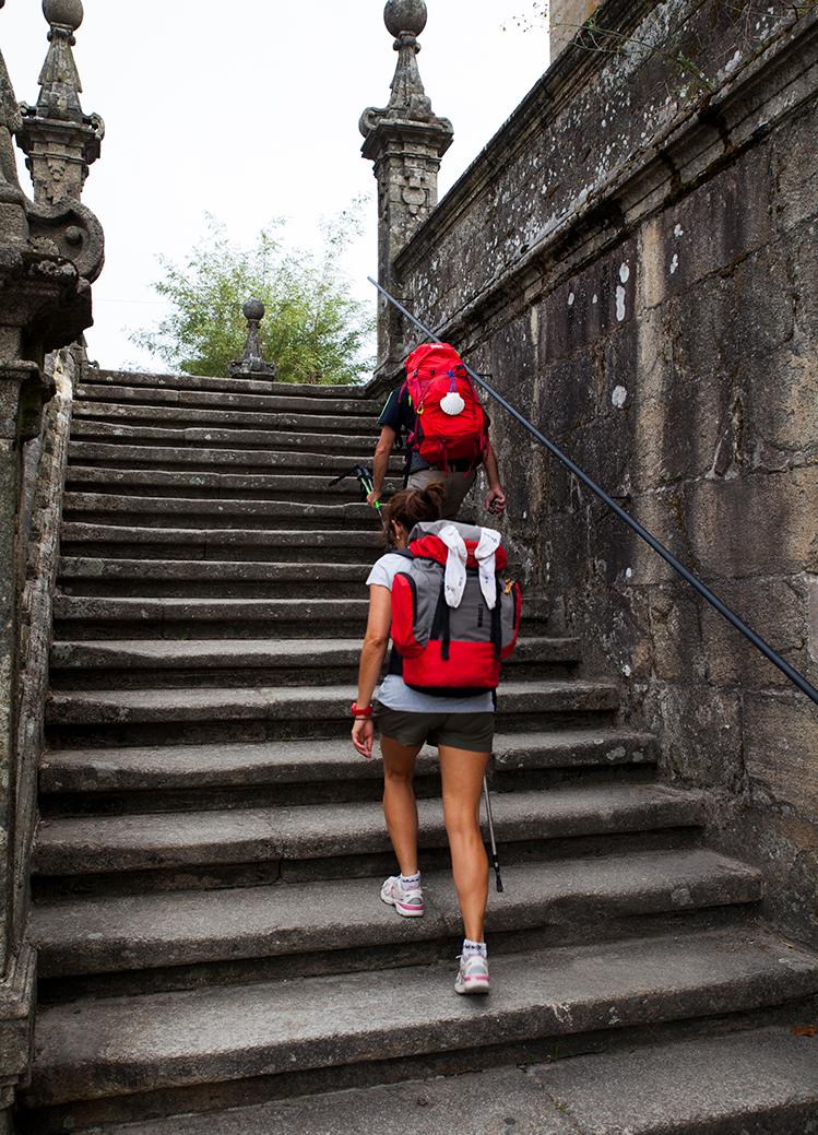 Camiño de Santiago en Padrón