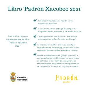 Libro 'Padrón Xacobeo 2021'
