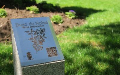 Padrón invierte en la mejora de la señalización del Jardín Botánico-Artístico