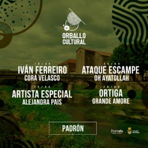 Orballo Cultural - Concertos