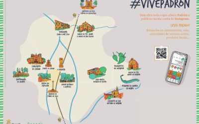 Turismo de Padrón lanza a campaña 'Vive Padrón'