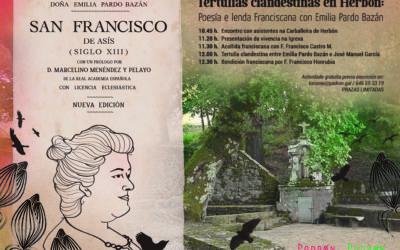 Poesía e lenda Franciscana con Emilia Pardo Bazán en Padrón