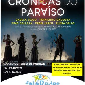 Sarabela Teatro: 'Crónicas do paraíso'